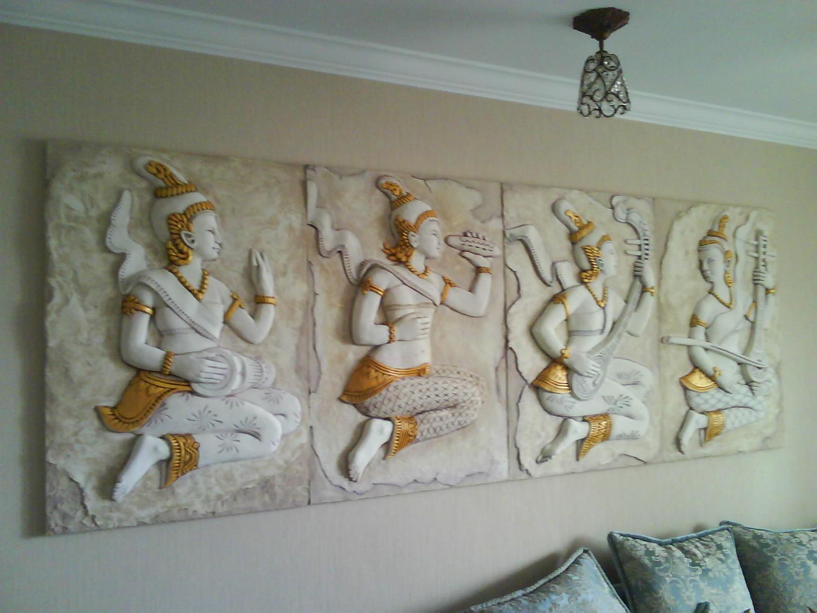 Рельефные панно на стену своими руками 57